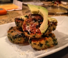 Quinoa and Kale Funk Pucks