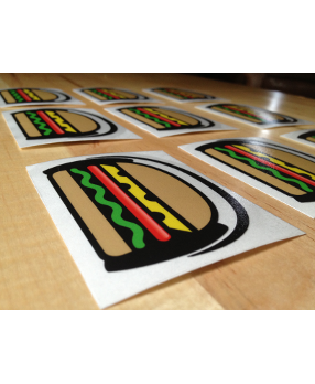 Sandwich Funk Stickers