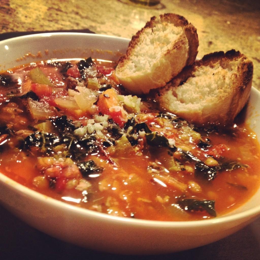 Lentil soup for Lovers